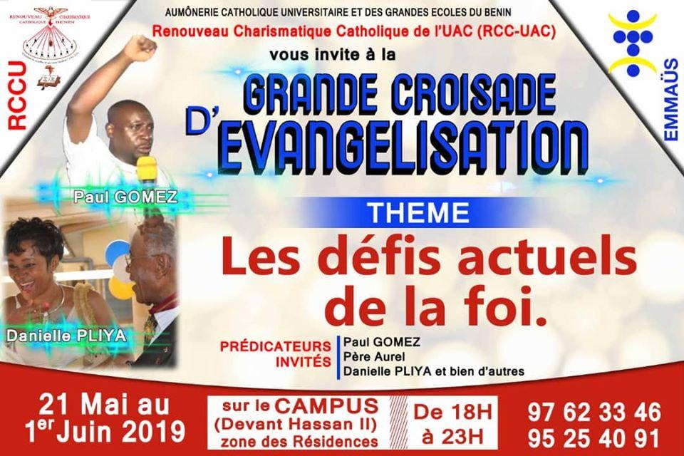 Croisade d'évangélisation à l'Université d'Abomey-Calavi