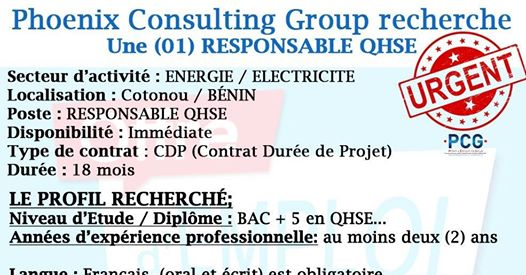Phoenix Consulting Group recrute !